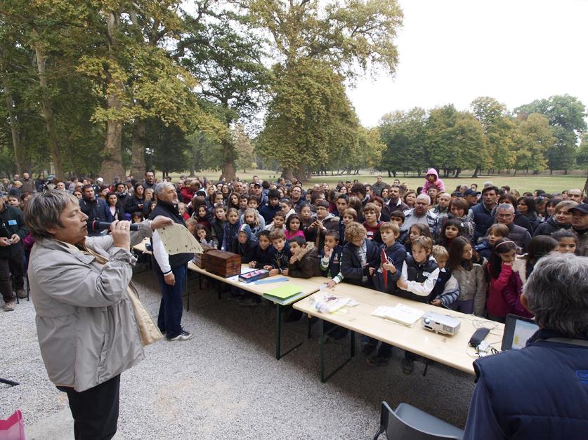 parco cavour caccia al tesoro ott2011