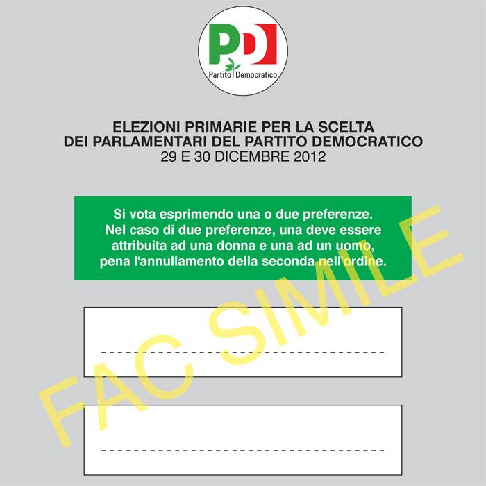 Santena pd primarie parlamentari rossosantena for Donne parlamentari pd