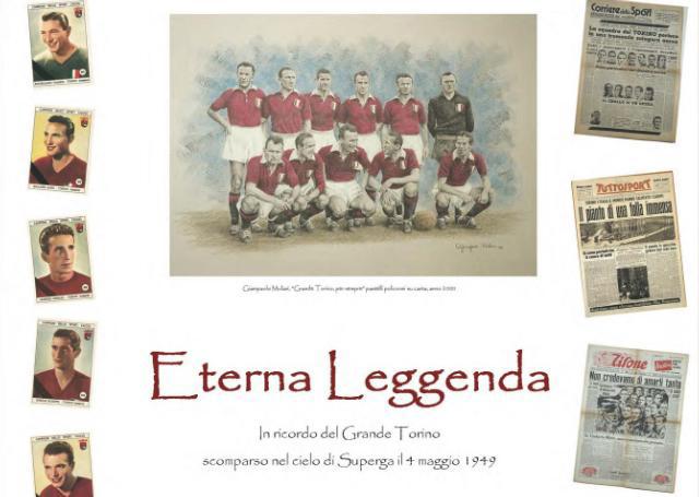 Manifesto Mostra Eterna Leggenda Caselle Torinese1