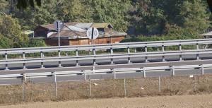 Santena, insediamento di via Longoria, visto dai Ponticelli