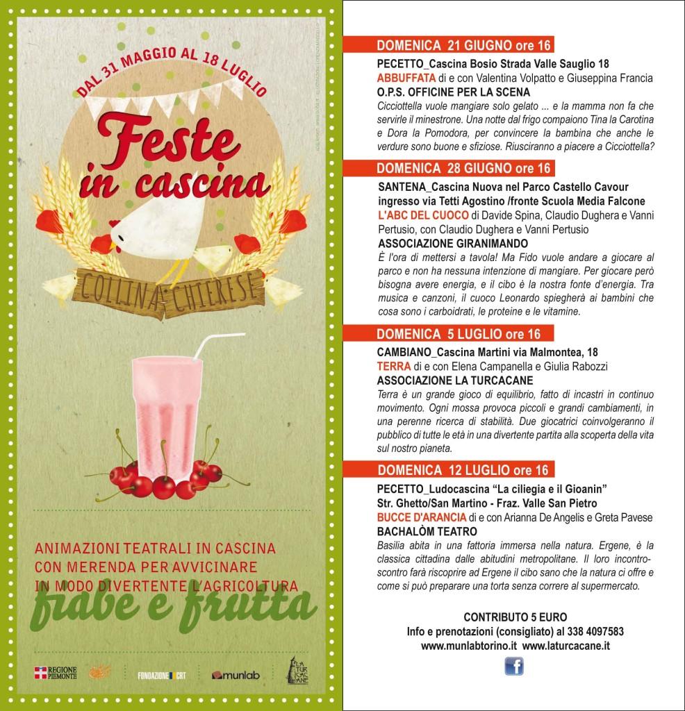 CARTOLINA FIABE E FRUTTA 2015 AFFIANCATE