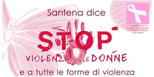 SantenaStopViolenzaDonne2015