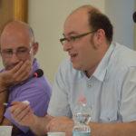 Daniele Franco, a sinistra. Gianpaolo Caruso a sinistra