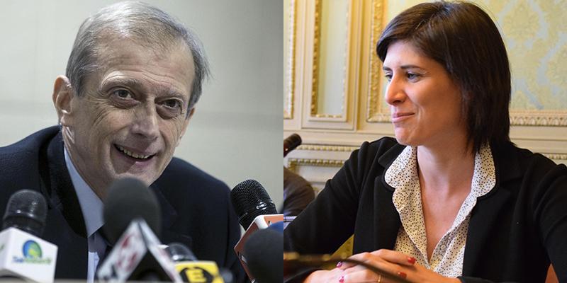 Piero Fassino e Chiara Appendino