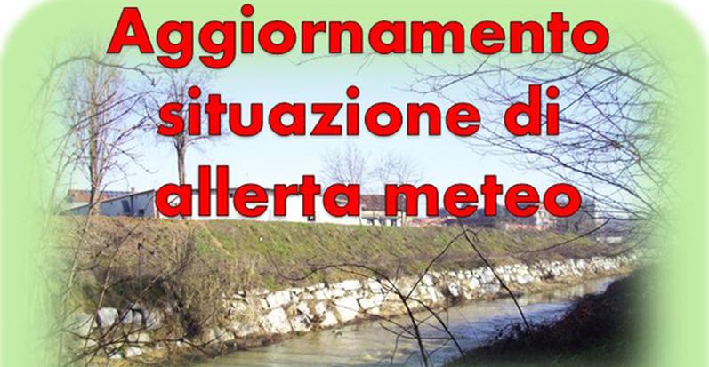 Santena, sul sito del Comune l'aggiornamento sulla situazione di allerta meteo
