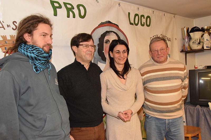Da sinistra: Fabio Grollino, Salvatore Barrile, Daniela Argentieri e Domenico Tosco