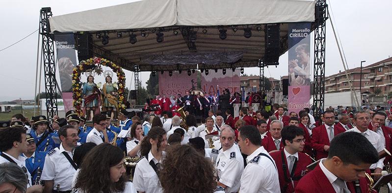 Immagine di archivio, la festa 2014