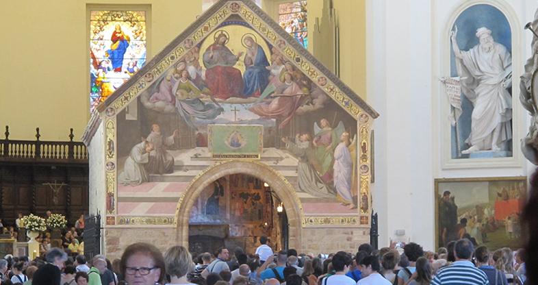 Basolica santa Maria degli Angeli, la Porziuncola